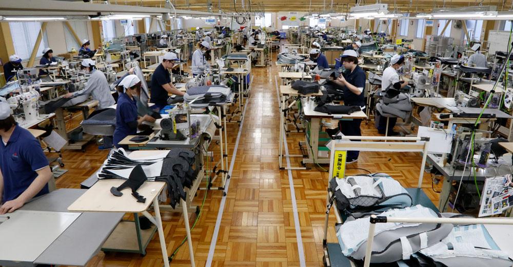事業所内作業場の写真